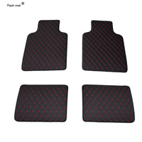 Flash mat Universal car floor mats for DS DS3 DS4 DS4S DS5 DS6 car accessories car styling Custom foot mats car carpet covers