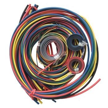 Cable de Tubo termorretráctil de 55M Set Wrap Sleeving paquete de protección duradera para Cable B88