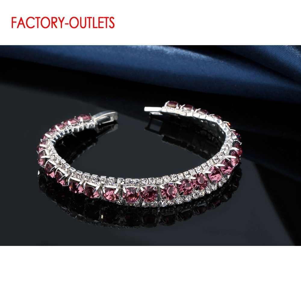Groothandel Nieuwe Collectie 925 Sterling Zilveren Armbanden & Armband Voor Vrouwen Koreaanse Stijl Mode-sieraden Meerdere Kleur Voor Keuze