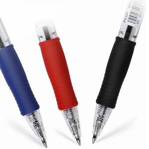 Image 2 - 12 sztuk japonia Pilot BPGP 10R SUPER GRIP kulkowe długopisy długopis przeźroczyste tworzywo sztuczne 0.7mm biuro szkolne