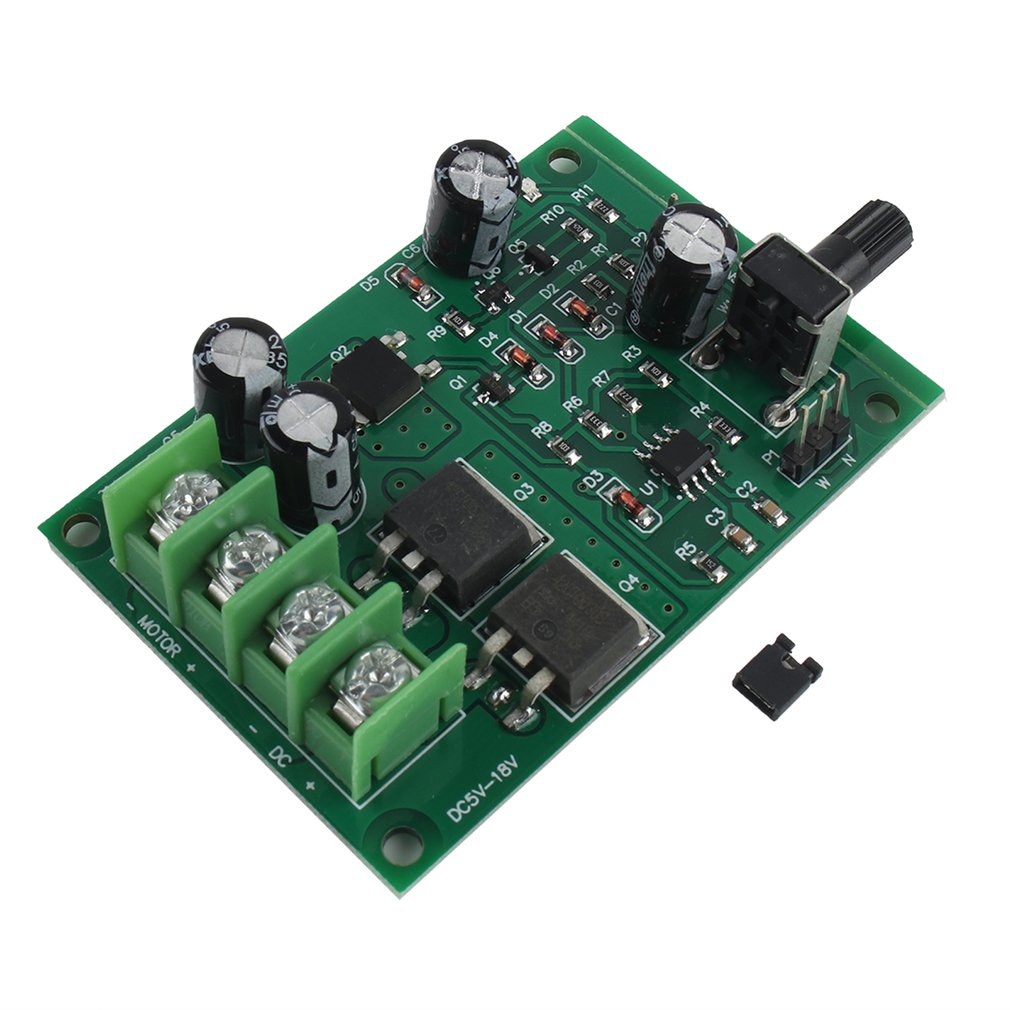 Professional Easy To Install 5v-12v Dc Brushless Motor Driver Board Controller Hard Drive Motor 3/4 Wire Accessories