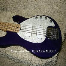 Бас-гитары новейший фиолетовый 5 струн электрический бас Высокое качество Новое поступление