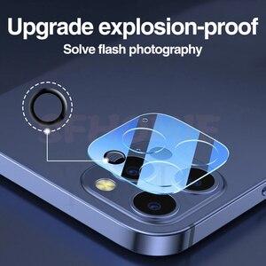 Image 2 - 9000D 전체 커버 카메라 렌즈 보호 유리 아이폰 12 11 프로 최대 강화 유리 아이폰 X XS XR XS 최대 후면 렌즈 유리