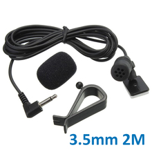 3.5mm Bluetooth External Microphone For Auto Car Pioneer Stereos Radio Receiver pioneer Car Replacement Parts Automotive Goods