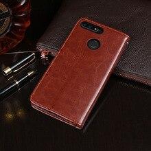 Für Huawei Honor 7C AUM L41 Fall 5.7 Flip Business Brieftasche Leder Telefon Fall für Honor 7C Russland Version Abdeckung zubehör