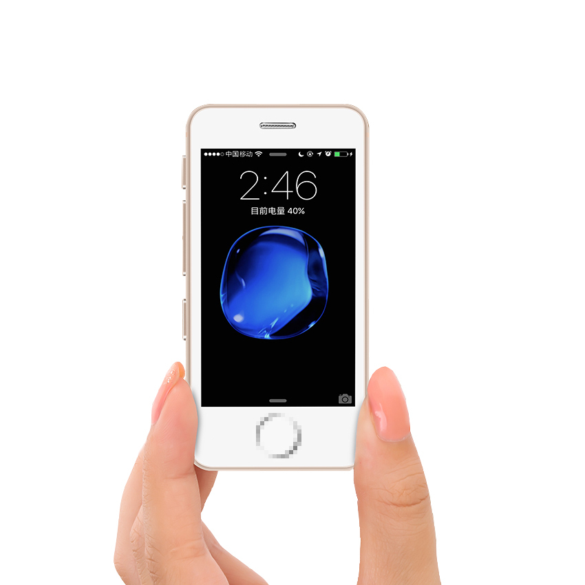 Небольшие мини-смартфоны Android, недорогой новый разблокированный сотовый телефон, Четырехъядерные мобильные телефоны, телефон с двумя SIM-кар...