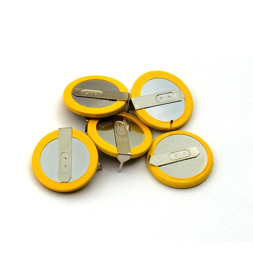 Перезаряжаемая батарея LIR2025, 3,6 В, 1 шт., бесплатная доставка, для BMW 3, 5 серии, E46, E39, батарея для дистанционного ключа