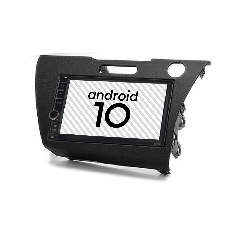 Car Android 10.0 <font><b>Gps</b></font> Multimedia Tape Recorder For <font><b>HONDA</b></font> <font><b>CRZ</b></font> CR-Z Autoradio Google Play Bluetooth OTOJETA Navigation Head Unit image