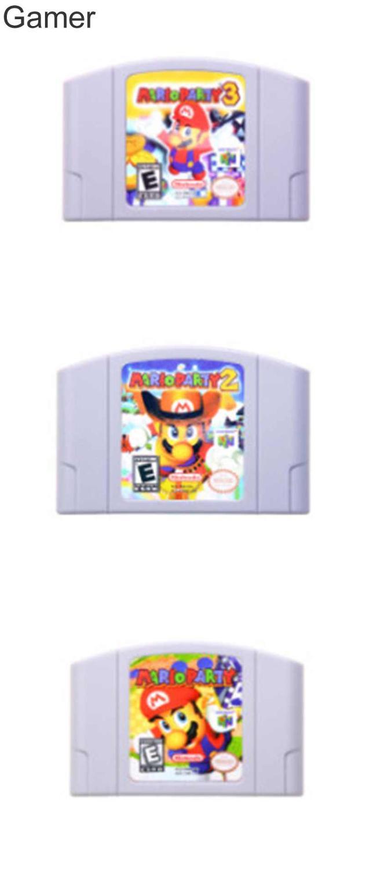 EUR Versione <font><b>Nintendo</b></font> 64 Bit Gioco di Carte Super Smash Bros Mari vecchia Serie Cartuccia del Video Gioco Console di Giochi di Carta Più la scelta