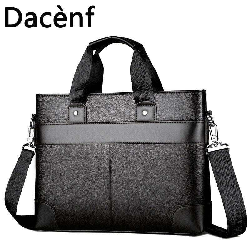 Men's Briefcase Bag Men's Laptop Bag Business Tote For Document Office Portable Laptop Shoulder Bag