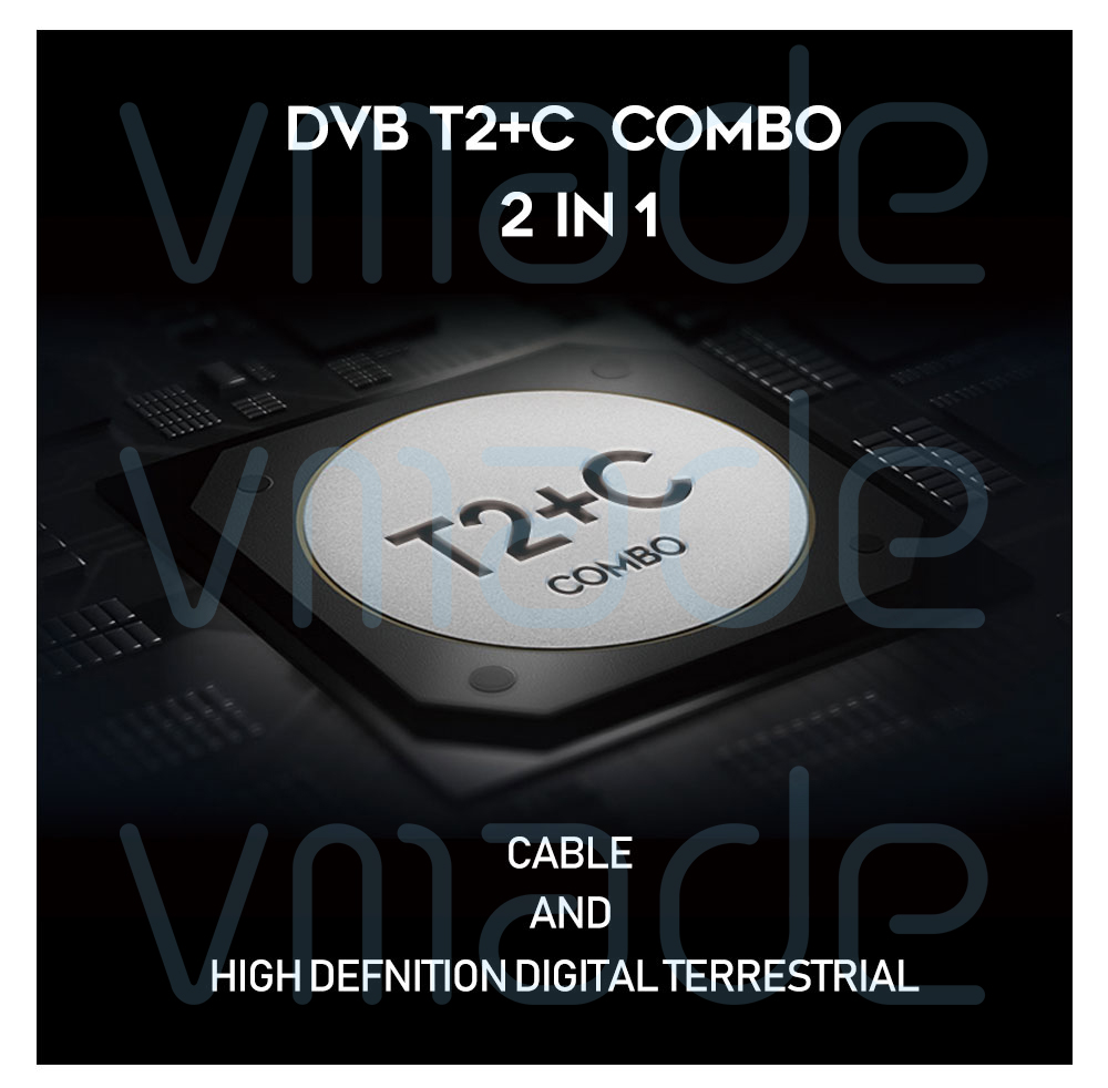I Main Features:(DVB T2+C) -Support Fully compliant with DVB-T2 standard -Support terrestrial Receiver DVB-T /…