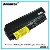 For Lenovo T400 Battery T61 R400 R61 i Laptop Battery 9 Core