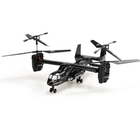 Remote Control Helicopter 2.4G 4CH RC Drone with Double Gyro and Headlamp for Cool Kids' Toy