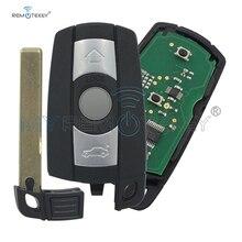 Remtekey car key 3 button KR55WK49127 315LP Smart Key Fob for BMW 1 3 5 6 series X1 X5 X6 Z4 2006 2007 2008 2009 2010 2011 whatskey 3 button remote control for bmw 315 434 315lp 868 mhz id46 1 3 5 6 7 series x5 x6 z4 e60 e82 e87 e90