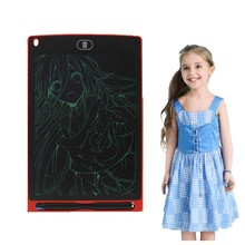 купить LCD Writing Tablet 8.5 inch Digital Drawing Electronic Handwriting Pad Message Graphics Board Kids Writing Board Children Gifts дешево