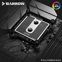 Barrow CPU Water Block Jet Microwaterway For AMD/Intel LGA-115X /INTELX99/X299 Radiator 5v 3pin ARGB Lighting AURA SYNC