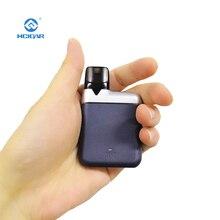 Hcigare AKSO Plus Kit de dosette 850 mAh batterie intégrée et 1.4 ml rechargeable dosette vape boîte système de dosette à entraînement par Air E Cigarette
