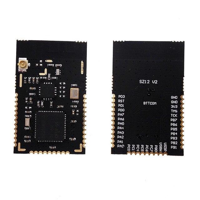 CC2538 CC2592 PA Zigbee โมดูลไร้สาย PCB สีดำ