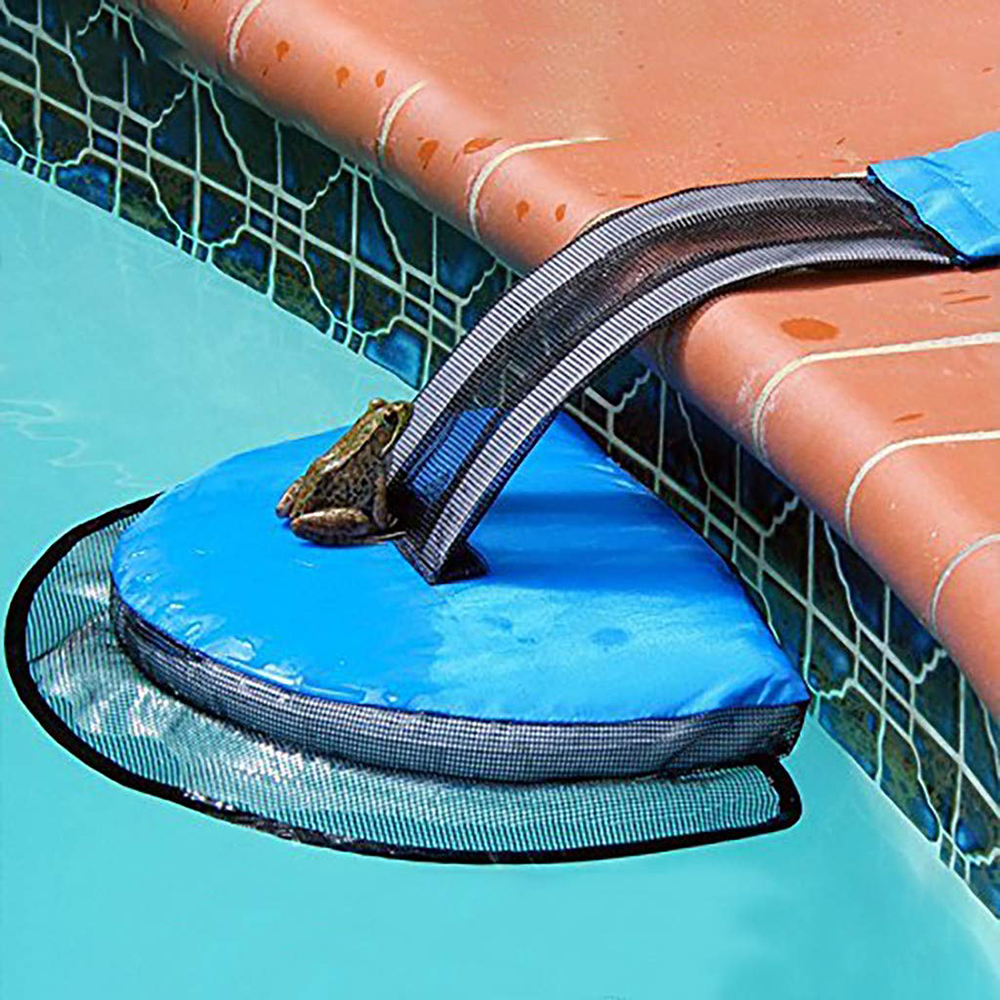 Animal Rescue Escape Saving Ramp Net Swimming Pool Save Tool Suitable For Duck Turtle Chipmunk Frog Swimming Pool Accessories