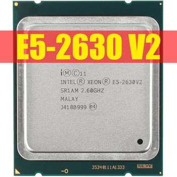 Intel Xeon E5 2630 V2 Server processor SR1AM 2.6GHz 6-Core 15M LGA2011 E5-2630 V2 CPU 100% normal work 1