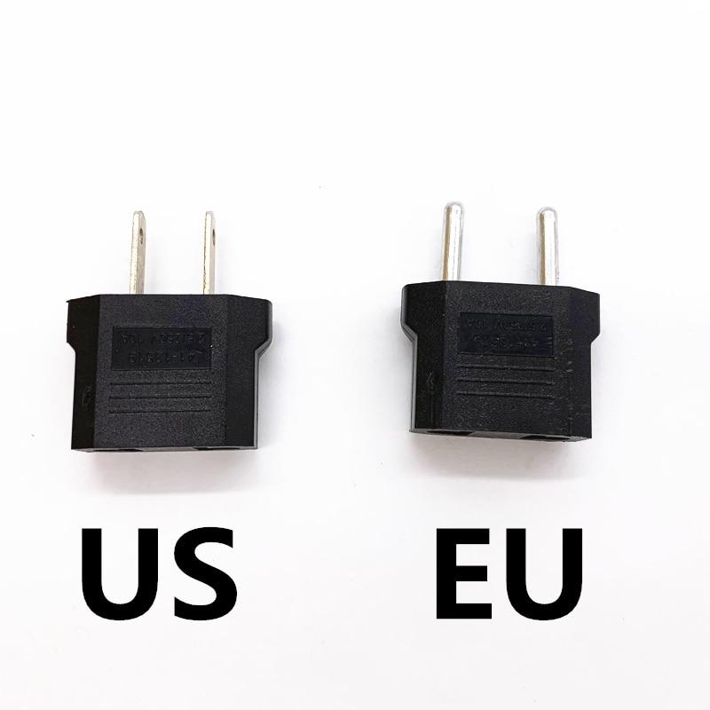 Универсальный переходник для зарядки, 1 шт., для путешествий, бытовой, 220 В, 2 отверстия, 10 А, EU, US, адаптер для трансформирующихся розеток двойн...