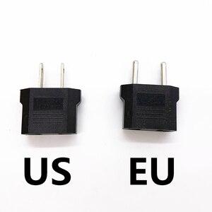 1PCS Universal Charging Convertor travel household 220V 2 holes 10A EU US dual-use transform plug socket Adapter