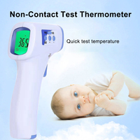 In Stock Muti function Baby/Adult Digital Thermometer Infrared Forehead Body Thermometer Gun Non contact Temperature Measurement