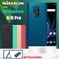 Funda Nillkin para Oneplus 8 Oneplus 8 Pro, funda protectora rígida para PC, funda protectora para mochila, funda para OnePlus 8 Pro 1 + 8 Pro