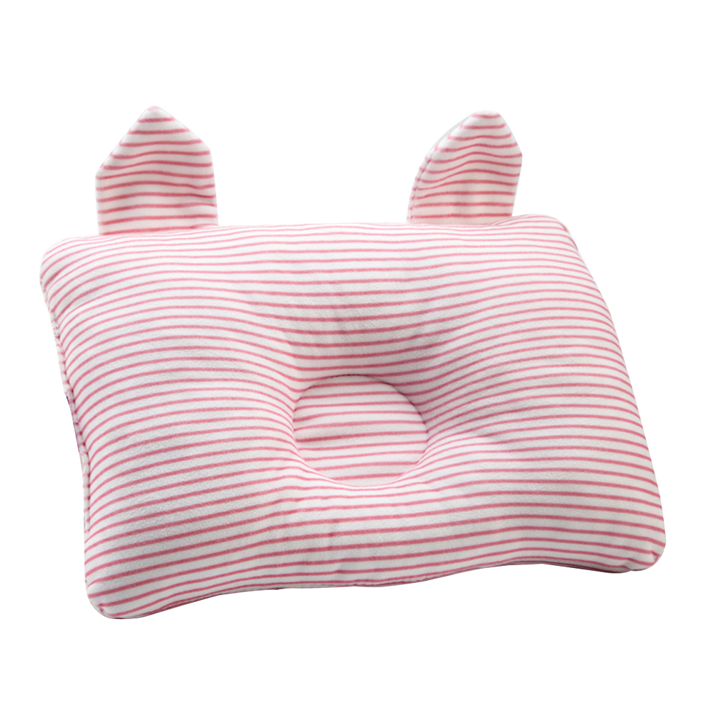 Shaping Nursery Cute Baby Pillow Breathable Soft Decorative Travel Support Prevent Flat Head Sleeping Positioner Infants Bedding
