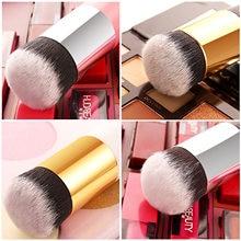 Profesjonalny makijaż szczotki pędzel do podkładu płaska szczoteczka krem pędzle do makijażu profesjonalny kosmetyk Make-up szczotki hurtownie