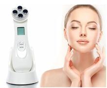 Facial LED Photon Skin Care Device Face Lifting Tighten Beauty Machine Facial Skin EMS Mesoporation