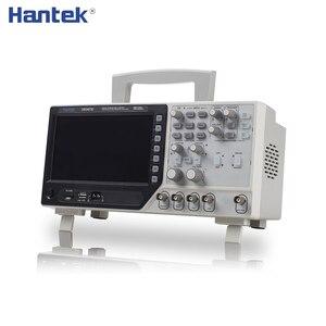 Image 1 - Hantek 2 قناة ملتقط الذبذبات الرقمي 1 قناة التعسفي/وظيفة مولد الموجي 70 200MHz DSO4072C DSO4102C DSO4202C