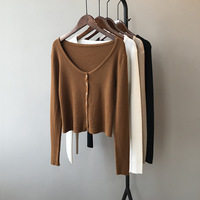 Autumn-Long-Sleeve-Crop-Knitted-Cardigans-Women-Top-Deep-V-Neck-Sweater-Button-2020-Solid-Korean.jpg_200x200.jpg