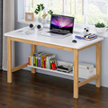 Desktop Computer Bureau Tafel Huishouden Eenvoud Bureau Leren Bureau Minimalistische Moderne Slaapkamer Massief Houten Tafel