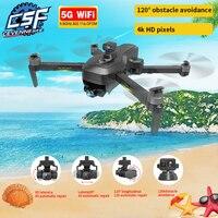 NWE-Dron SG906 Pro 2 / SG906 MAX 5G WIFI 4k HD 3 ejes cardán Cámara GPS profesional Quadcopter Prevención de obstáculos, 2021