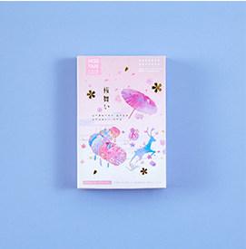 L248- Flower Dance Paper Greeting Card Lomo Card(1pack=28pieces)