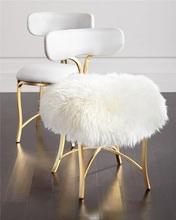 Stalowe krzesło z wełnianą tapicerką i skórą PU 832x546x426mm tanie tanio Jadalnia meble pokojowe Jadalnia krzesło Meble do domu