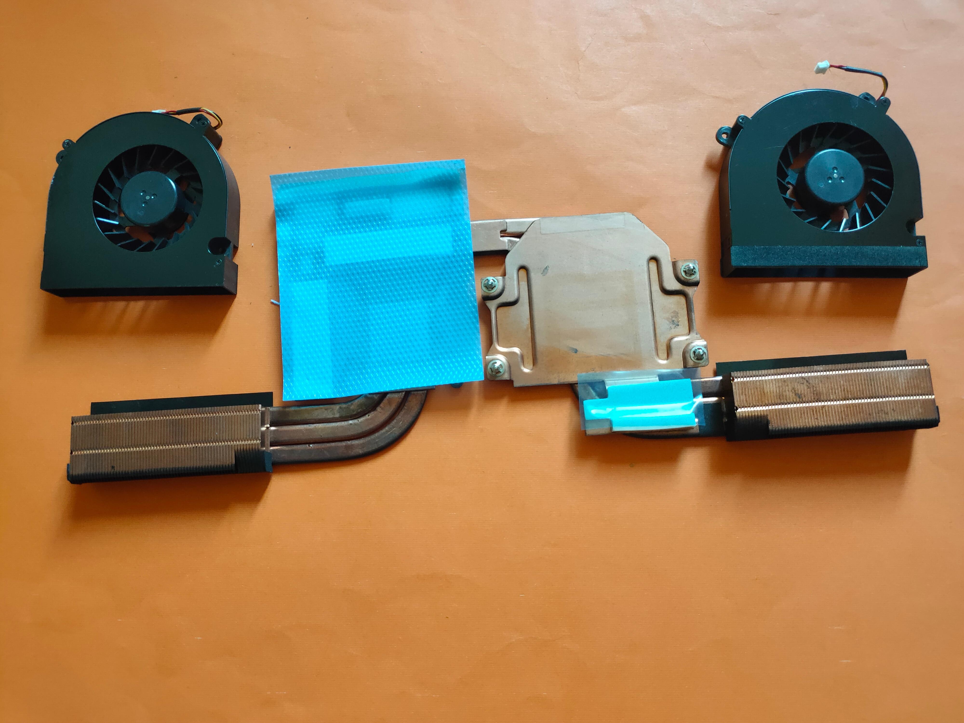 Radiateur et ventilateur pour ThundeRobot G155P Clevo P770 P771 6-31-P75D3-100