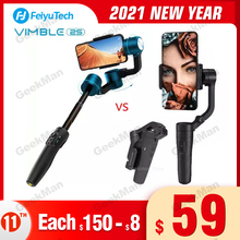 Wenden Sie sich an den Kundendienst, um Gutscheine zu erhalten Feiyu tech Vimble 2/Vlog Tasche 3 Achsen Gimbal Smartphone Stabilisator Erweiterbar Handheld PK DJI Osmo 2 Zhiyun glatte Q 4