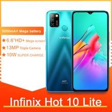 Infinix quente 10 lite smartphones 6.6