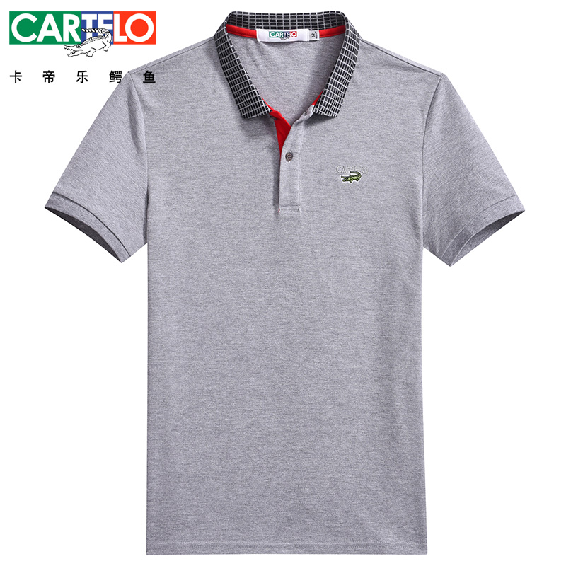 DZYS Men's Polo Shirt Fashion Business Casual Polo Shirt For Men Male 3231