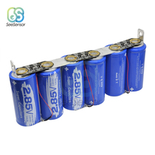 6Pcs/set Farad Capacitor 2.85V 3400F Super Ultracapacitor with Protection Board Automotive 17V 566F