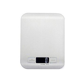 Báscula de cocina con visión nocturna sin cuenco báscula Digital de alimentos peso Digital gramos y onzas por grandes productos