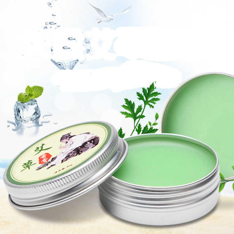Kruiden Moxa Moxibustion Crème Balsem Bijvoet Gezondheid Huidverzorging Reparatie Essentiële Massageolie Relief Artritis Hals/Rugpijn