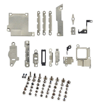 2 pack/set wymiana naprawa części metalowy uchwyt uchwyt mocujący Pad Spacer + pełny zestaw śruby dla iPhone 5 5c 5S w Zestawy akcesoriów do telefonów komórkowych od Telefony komórkowe i telekomunikacja na