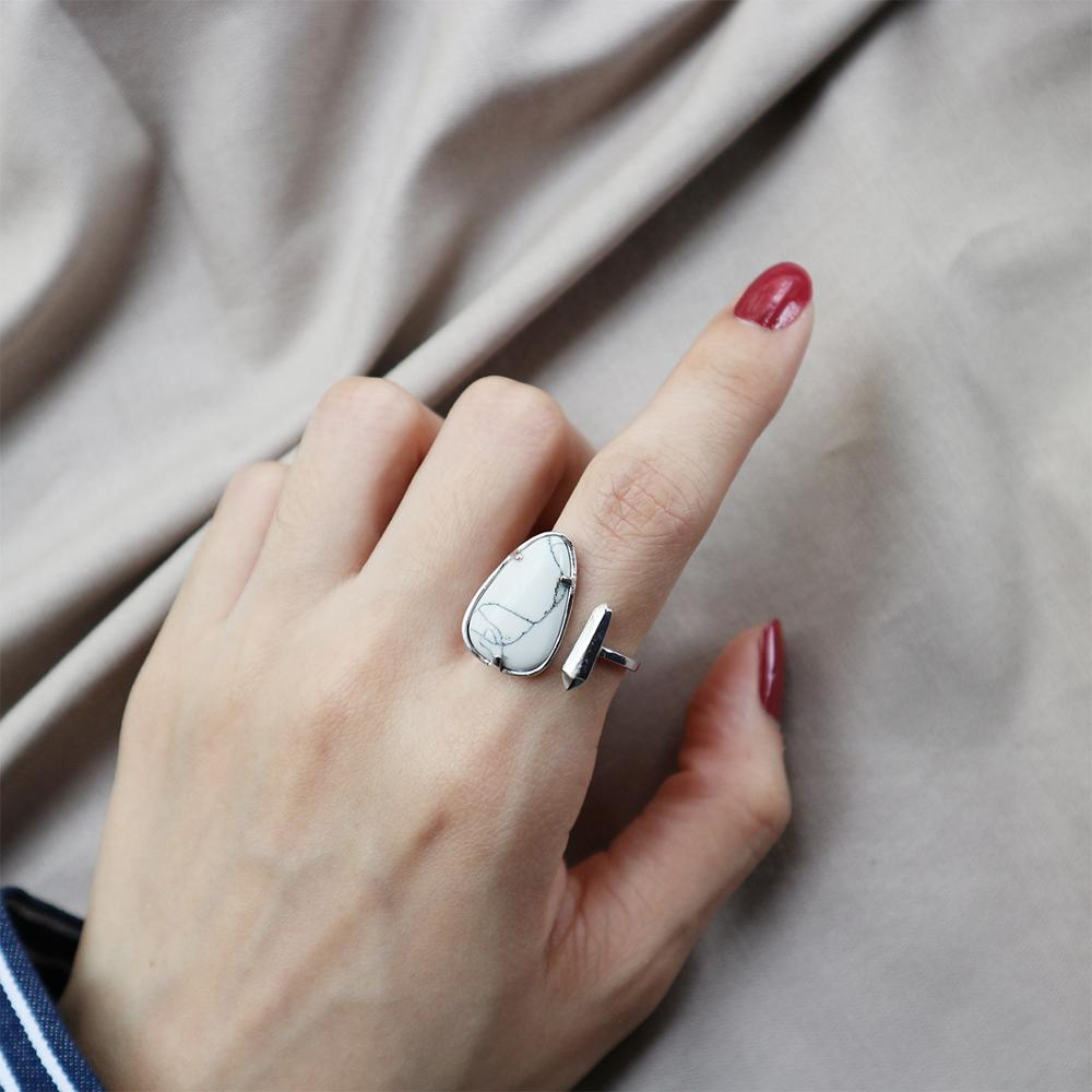 Kinel S925 Sterling Silver Jewelry Commitment To Marry An  Simple Opening Step Marbled Red Pine White Pine Wedding Rings
