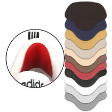 Sapatas pegajosas da subvenção do reparo do calcanhar das palmilhas, furo na sapatilha traseira da etiqueta do sapateiro alinhada com anti-uso após o cuidado do pé da vara do calcanhar