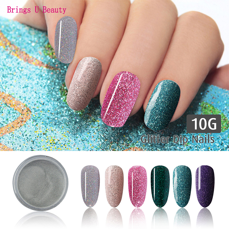 Top 8 Most Popular Fine Glitter Nails Ideas And Get Free Shipping A127