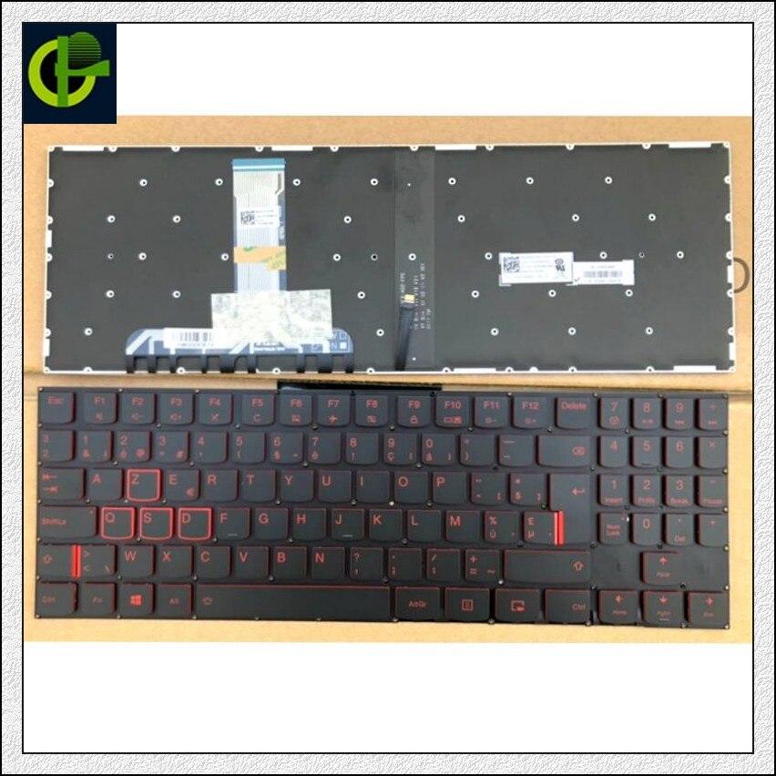 Original Azerty French Belgium Backlit Keyboard For Lenovo Legion Y7000 Y7000P Y530 15 Y530P Y530-15ICH Y530-15ICH-1060 BE FR