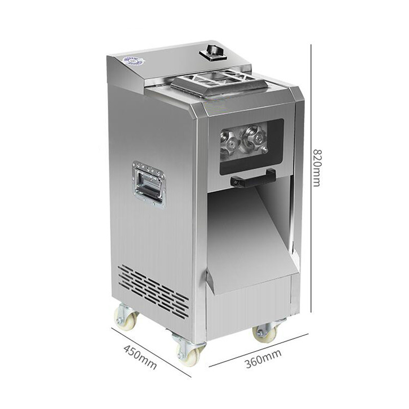 Коммерческая машина для нарезки мяса вертикальный тип Мясорубка электрическая машина для резки мяса 2200 Вт Большая Мощность Мясорубка